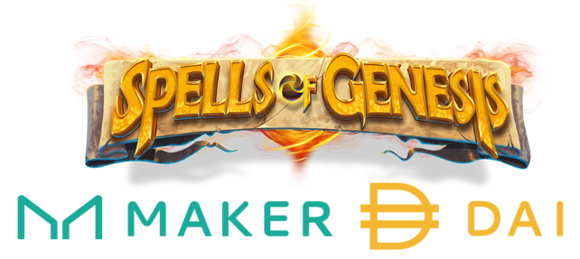 EverdreamSoft announces an integration between Maker Dao and Spells of Genesis